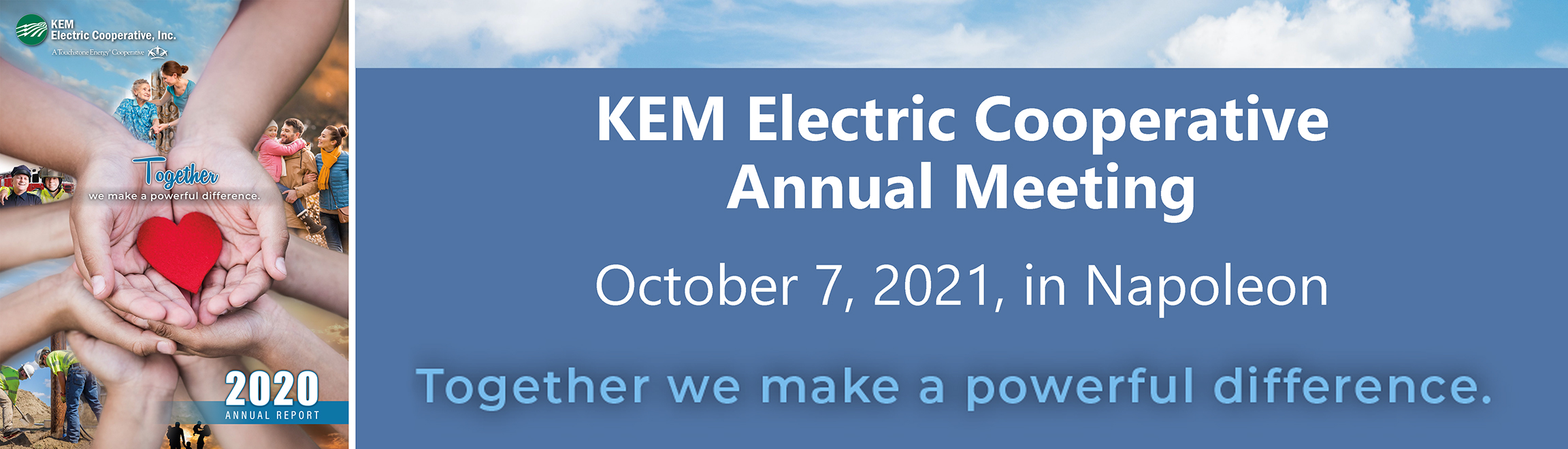 Attend KEM's annual meeting Oct 7 in Napoleon